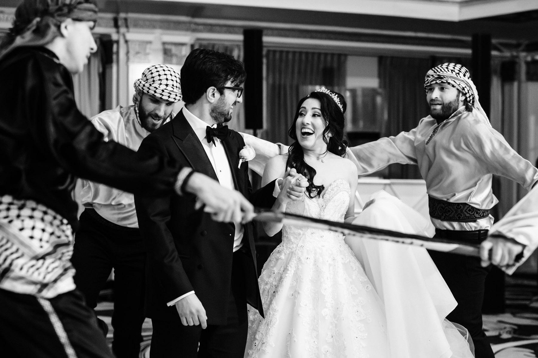 Drake Hotel Wedding, Zaffe Band