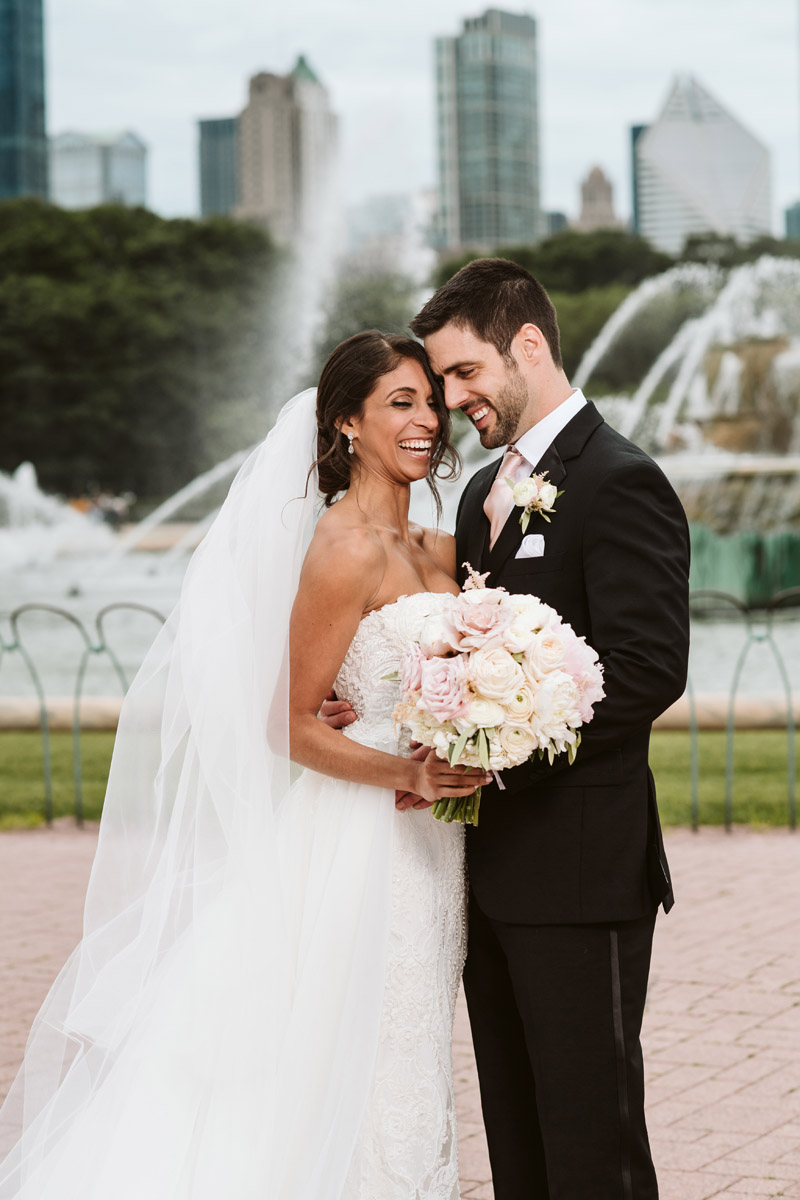 Buckingham Fountain Wedding